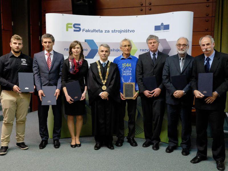 Nagrade Fakultete za strojništvo za leto 2016